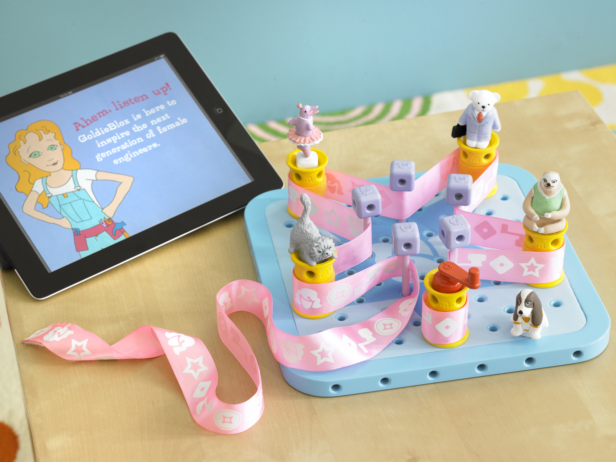 Goldie Blox + iPad
