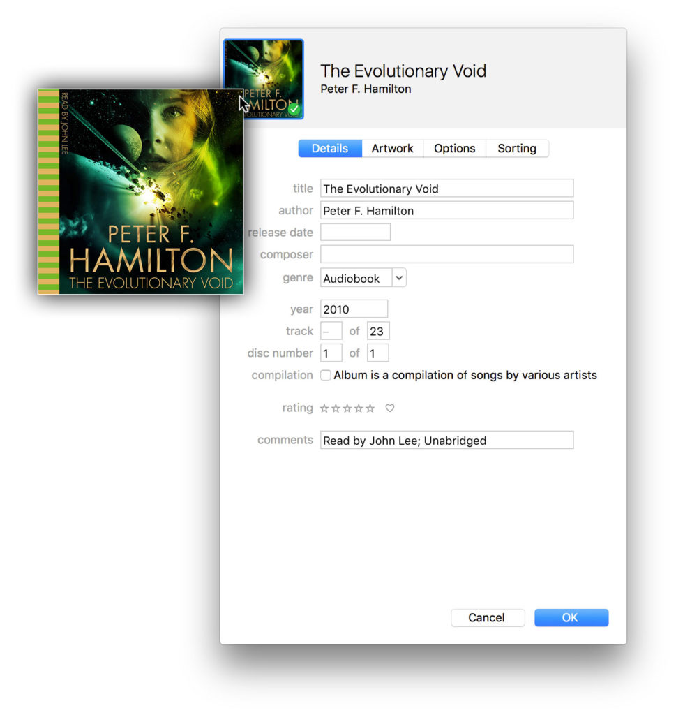 How to Change Audiobook Images in iTunes for Mac and iBooks